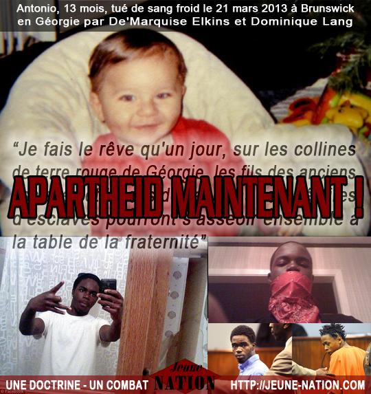 Antonio, 13 mois et ses deux bourreaux africains-2