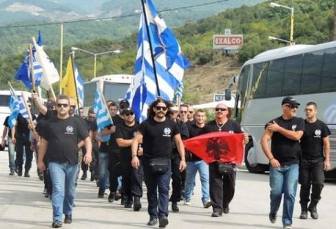 Aube dorée frontière albanaise fermée 1