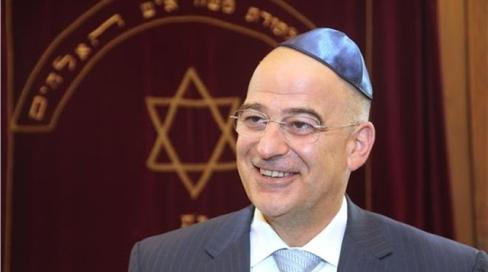Nikos Dendias, ministre de l'Intérieur en Grèce, aux ordres des ennemis de l'Europe.