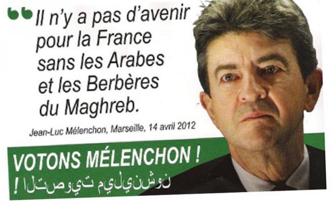 pas d'avenir pour la France sans les Arabes-meteque-melenchon-racaille-anti-blancs-