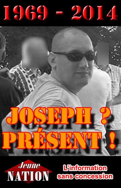 """Une pensée de l'équipe de Jeune nation pour Joseph, """"l'ami des loups"""", qui nous quittait il y a un an."""