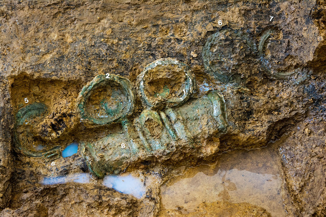 Découverte de la tombe d'un Celte dans les Ardennes (1)