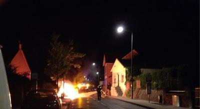 Voitures brûlées-Maubeuge -algerie_coree