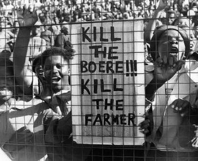 """""""Tuons les Boers - Tuons les fermiers"""""""