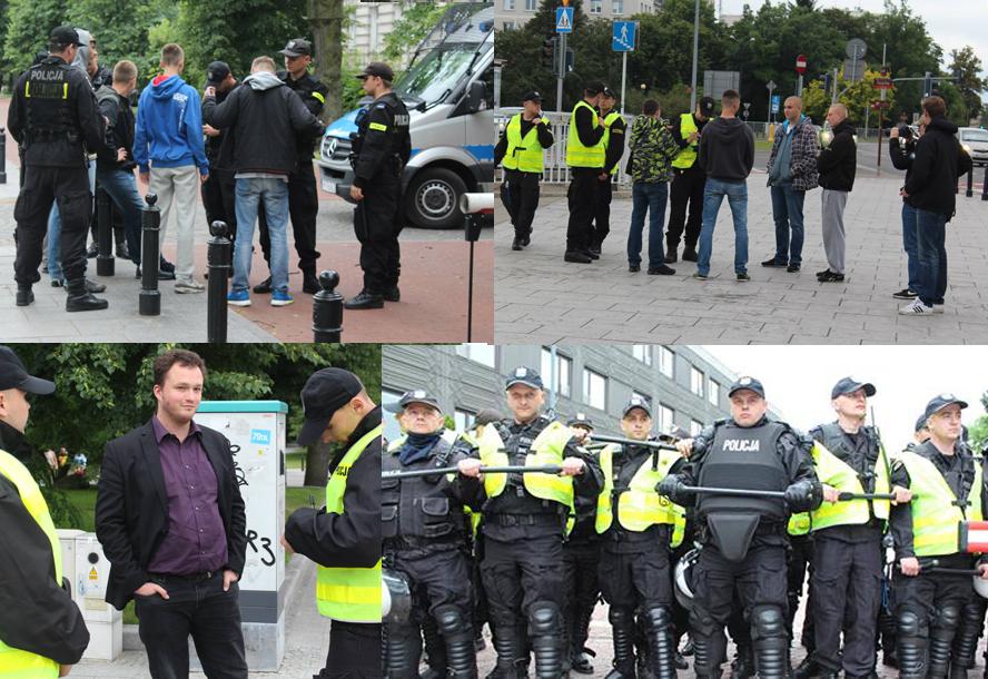 [Fouilles, arrestations, contrôles : d'importants effectifs de police ont été mobilisés]