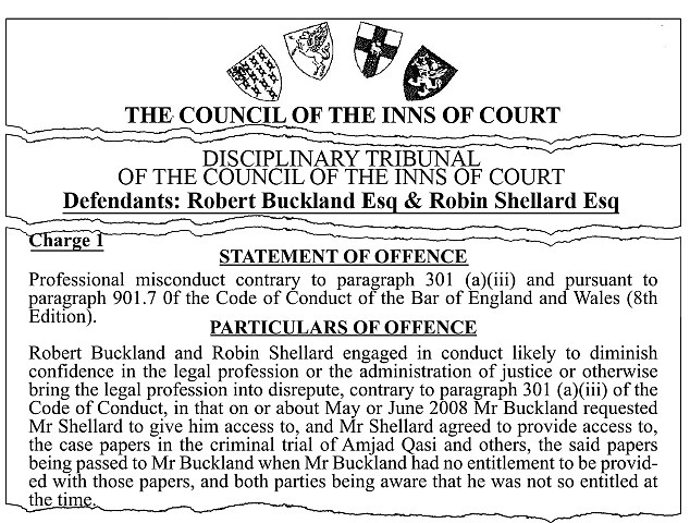 Robert_Buckland-condamnation