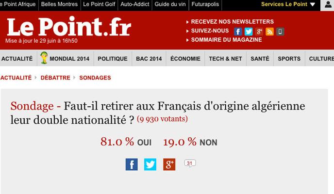 sondage-le-point-double-nationalite-algeriens_dehors