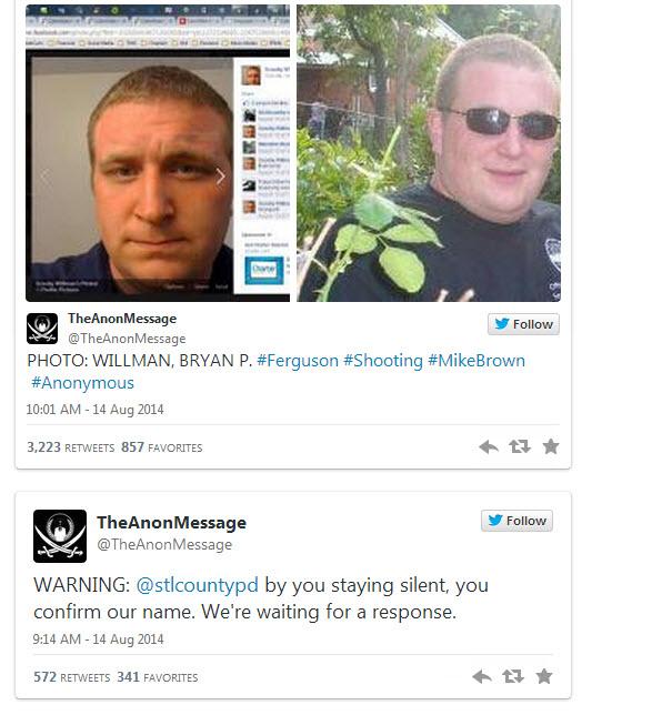 14082014-ferguson-le groupe raciste antiblanc anonymous a denonce un innocent-4