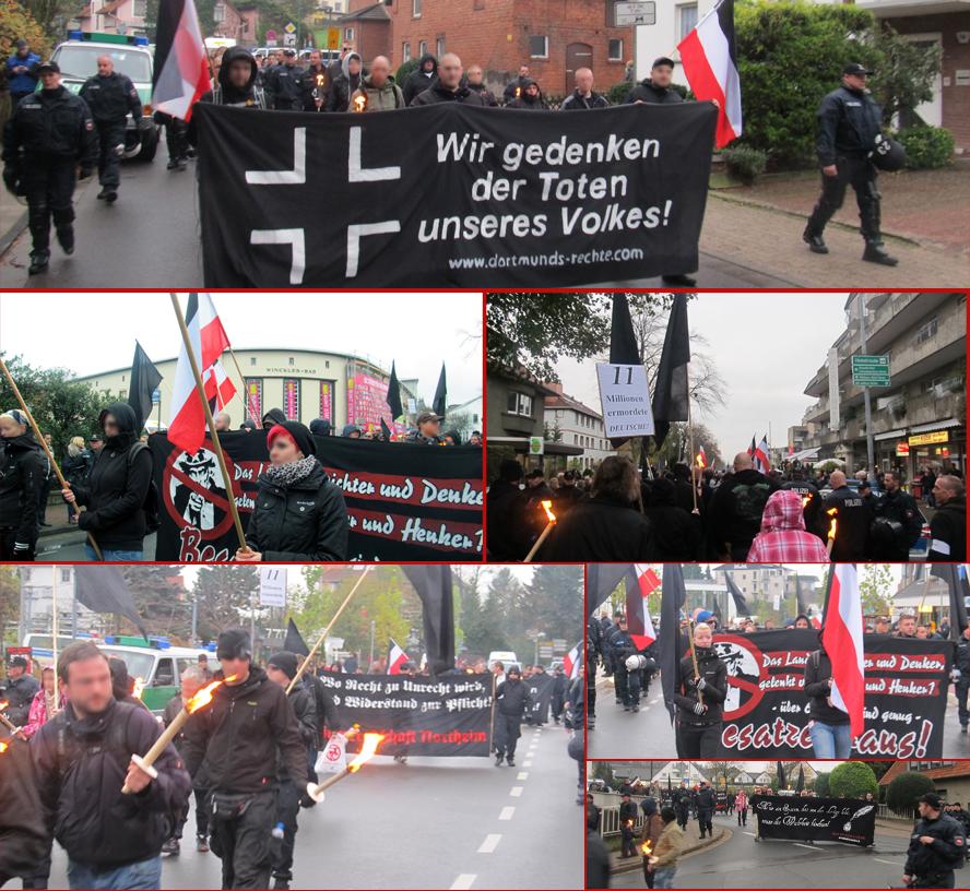 Images de la manifestation en 2013.