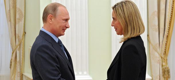 Ucraina: Mogherini vede Putin al Cremlino