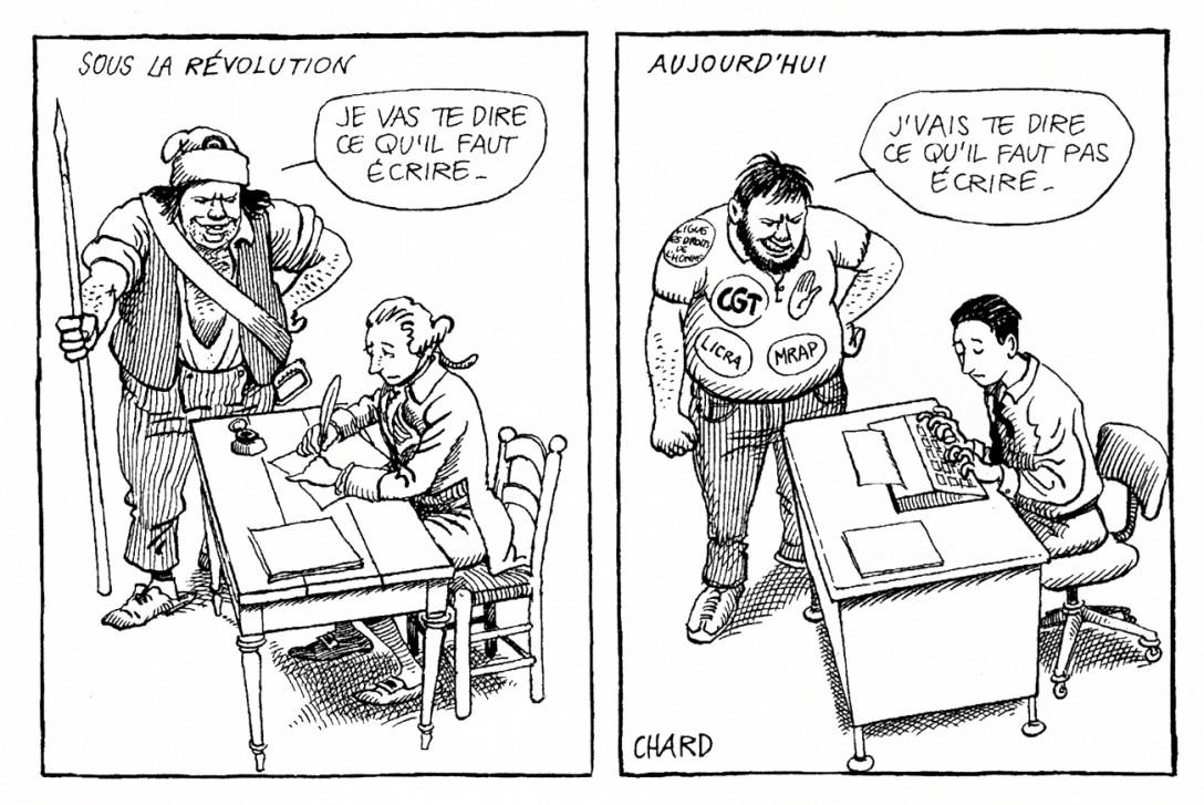 011-B  chard revolutionnaire noble cgt systeme journalisme presse aux ordres