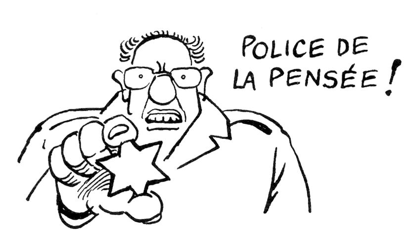 032-C  chard revisionnisme police de la pensee juif etoile jaune