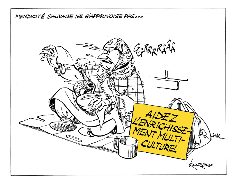 Korbo mendicité rom.4.11.2013