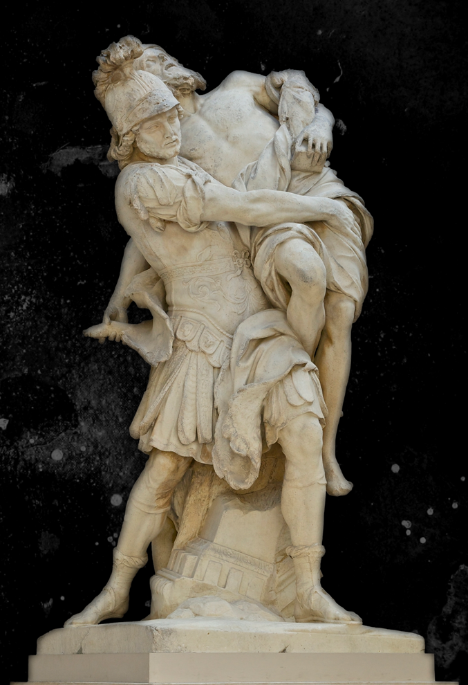 Paul Lepautre : Enée et Anchise.