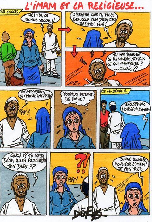 Duf : La religieuse et l'imam