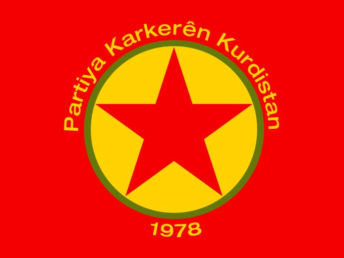Drapeau du PKK.