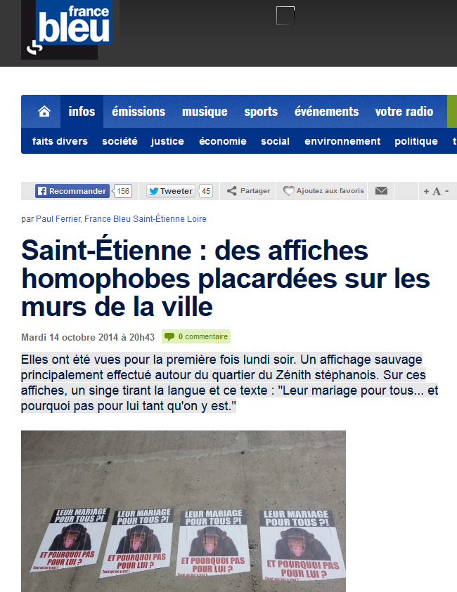 france-bleu-mensonge-saint-etienne-nationaliste