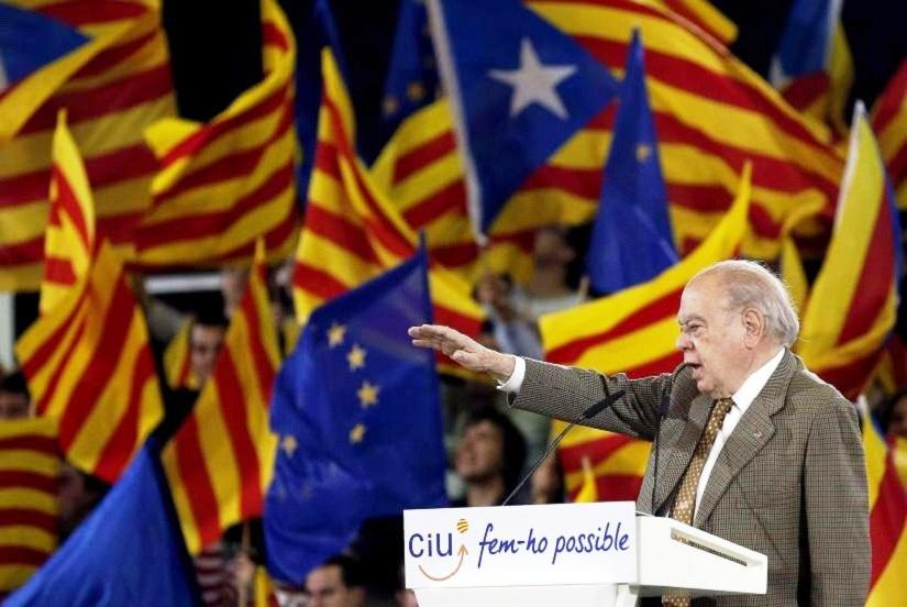 L'escroc Jordi Pujol.
