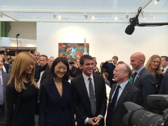 Manuel Valls, Fleur Pellerin et la prostituée algérienne Zahia Debar