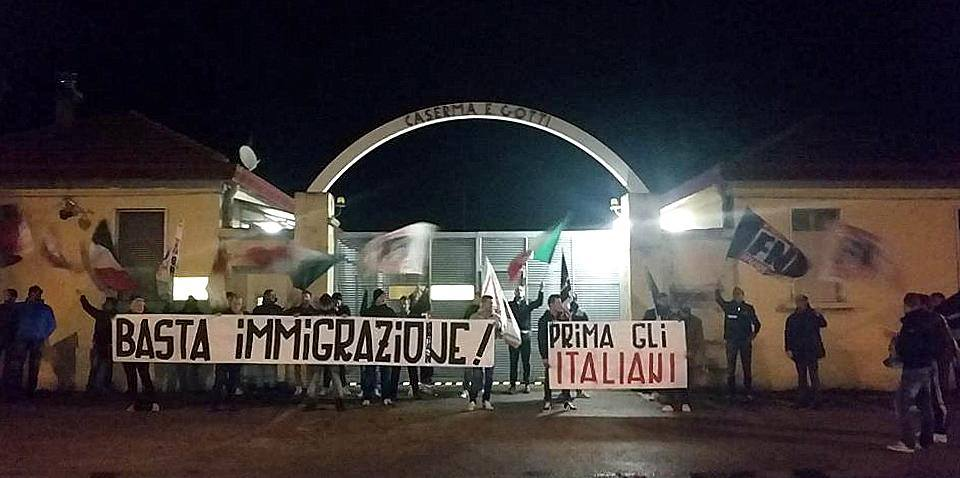 Forza Nuova - Stop à l'immigration