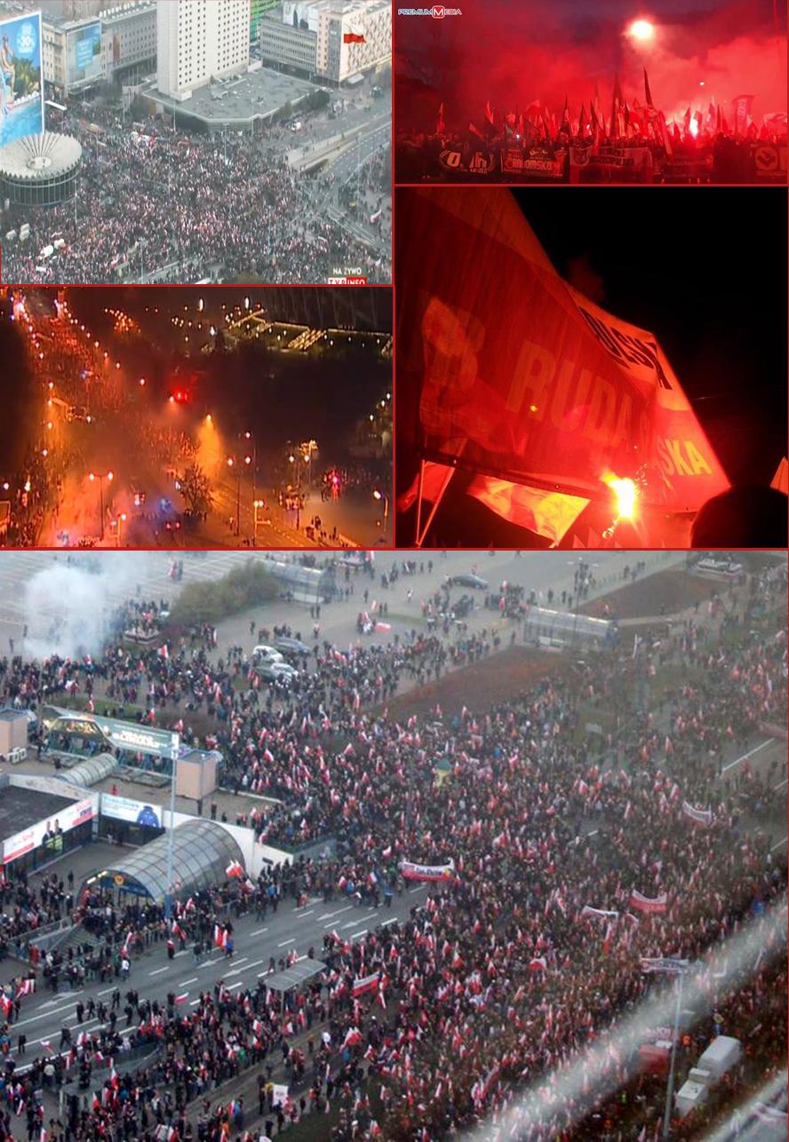 Pologne-Marche pour l'indépendance 2014-b