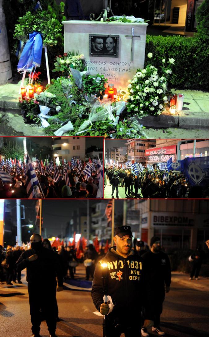 Sur les lieux de l'assassinat, des milliers de nationalistes se sont recueillis.