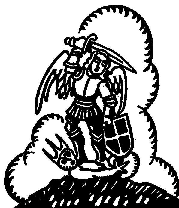 L'Archange Saint-Michel.