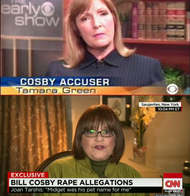 Deux des victimes de Bill Cosby.