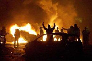 voitures brulées vénissieux 2014