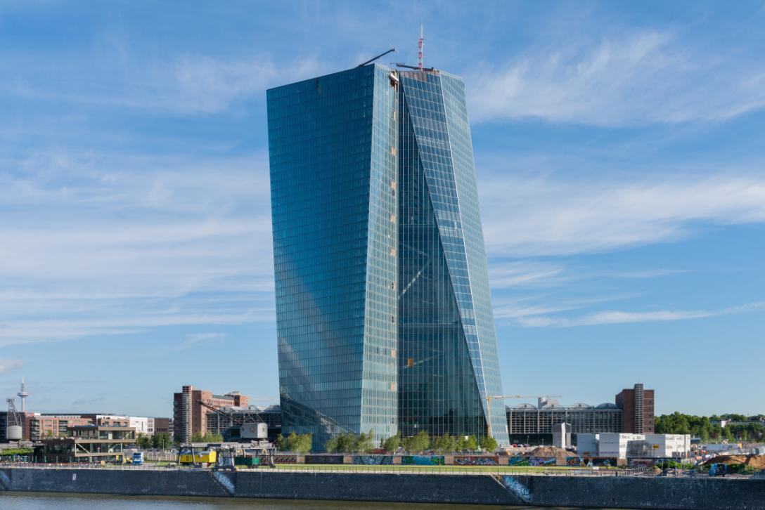 """La """"Skytower"""", nouveau siège de la Banque centrale européenne"""