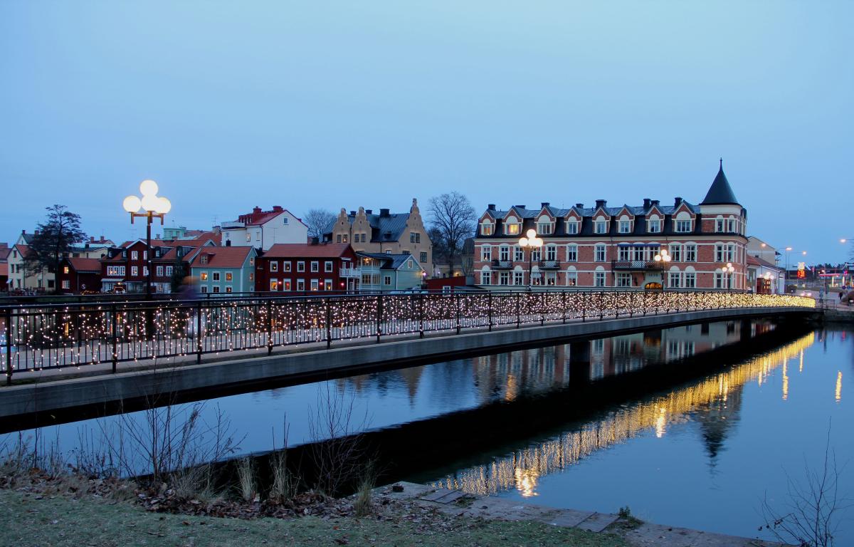Avant l'occupation, Eskilstuna était un paradis européen