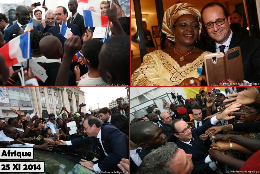 François Hollande Afrique 112014