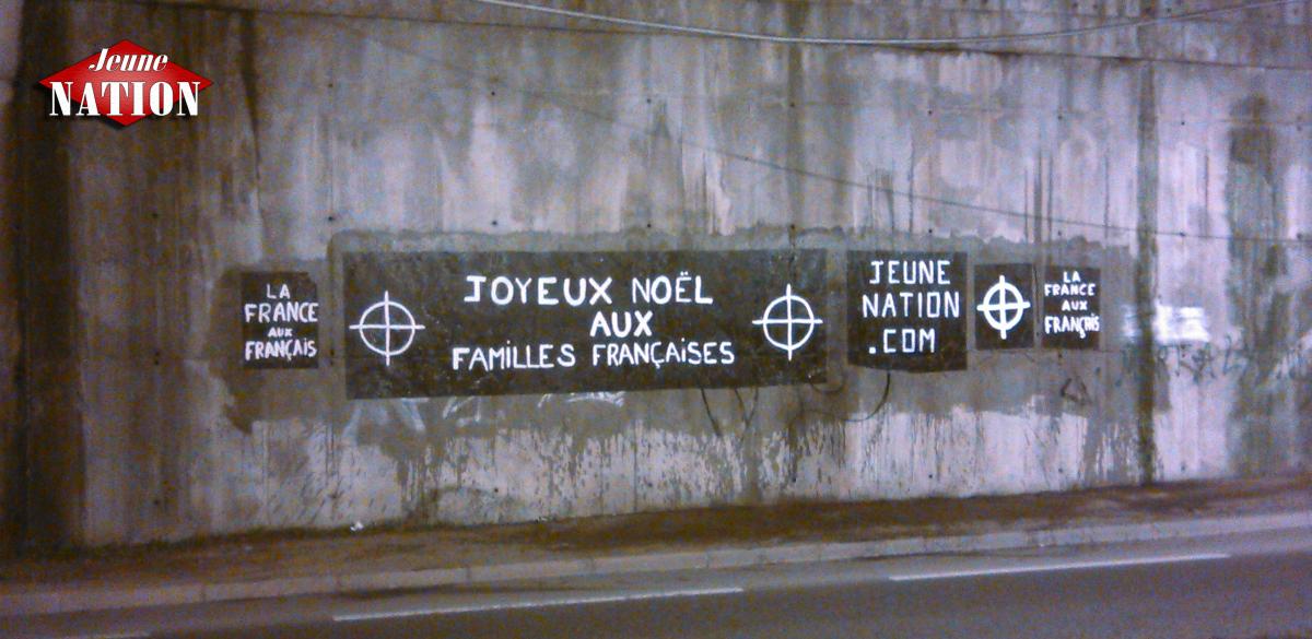 Un grand merci au groupe Saint-Étienne nationaliste pour ce message de Joyeux Noël aux familles françaises !