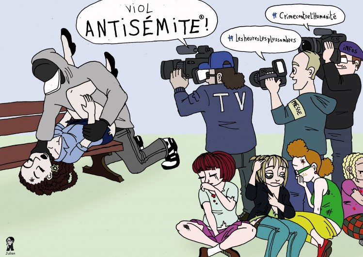 L'Artiste Mal Pensant - Antisémitisme