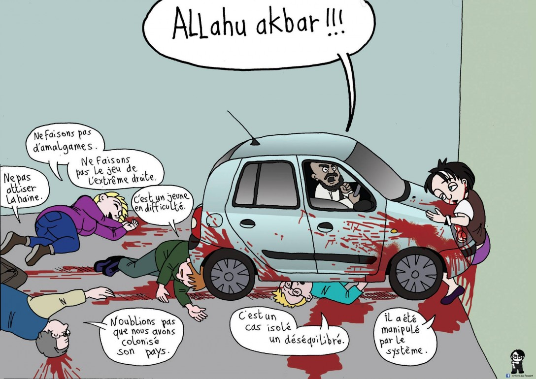 L'Artiste mal pensant - Alluh Akbar