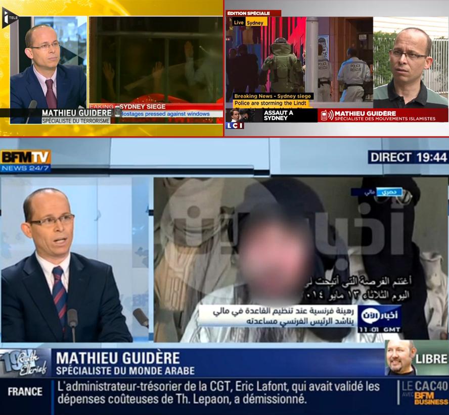 Moez Kouider dit Mathieu Guidère, le nouveau spécialisteès islam