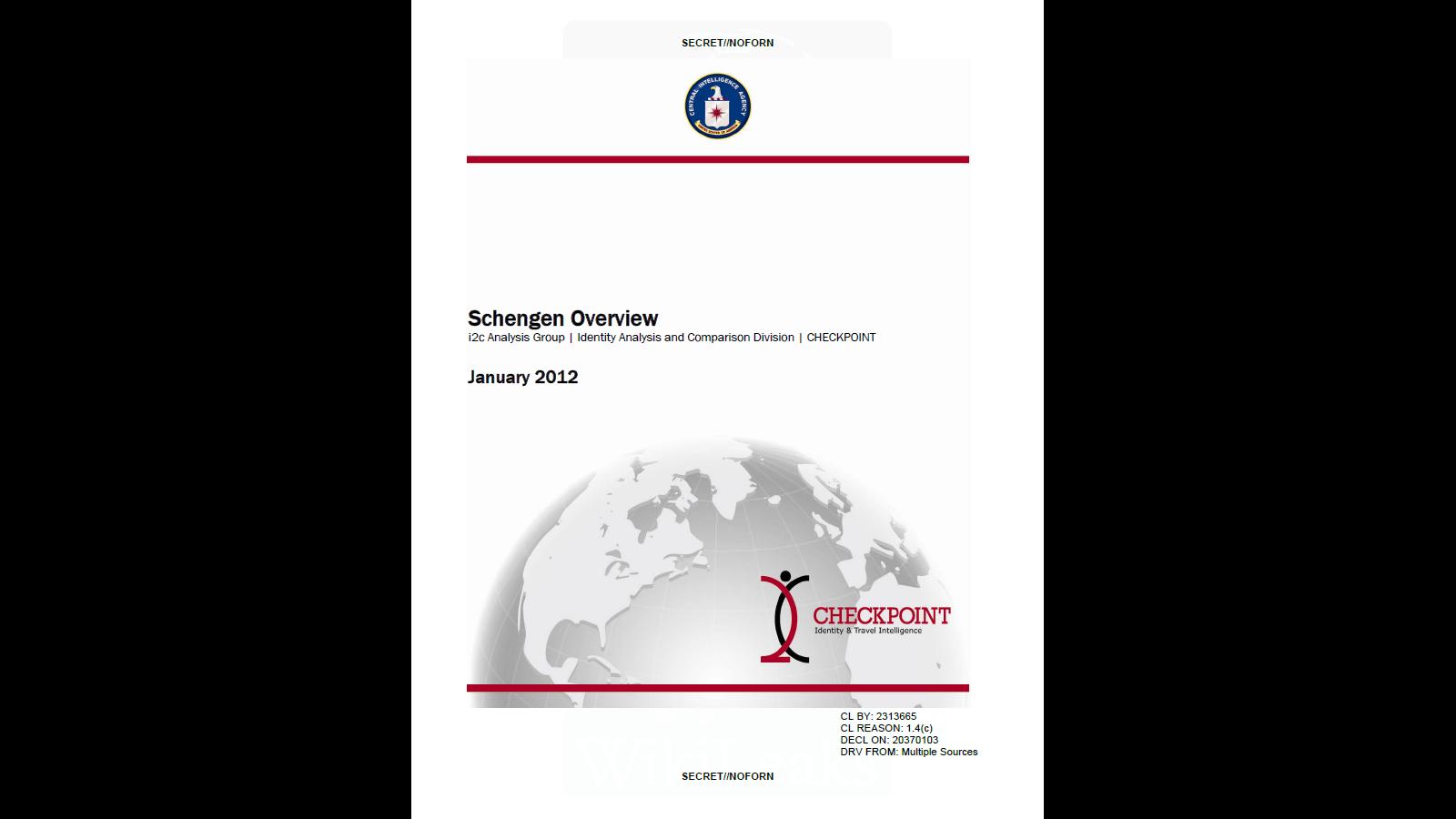 schengen-CIA