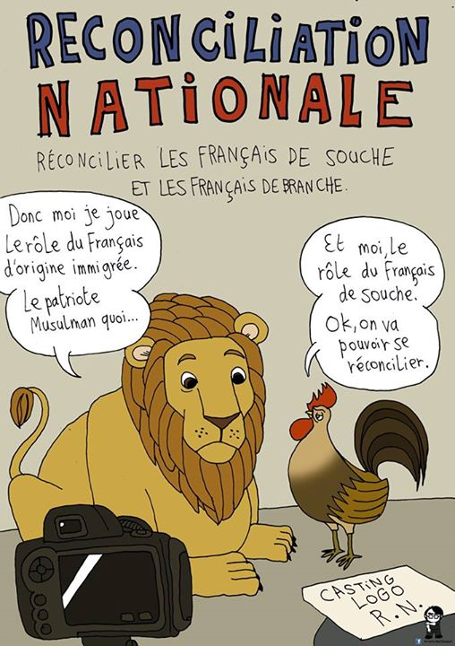 L'Artiste mal pensant - Réconciliation (anti)nationale