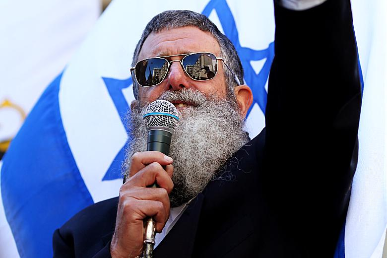 Le rabbin raciste juif Nachum Shifren