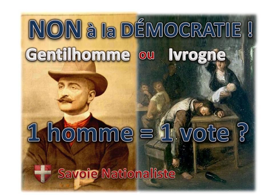 Savoie nationaliste - Démocratie