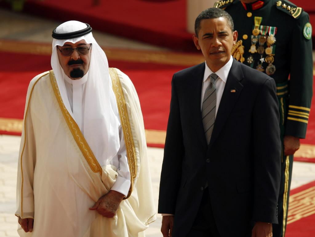 le Roi Abdallah et Barack Obama.