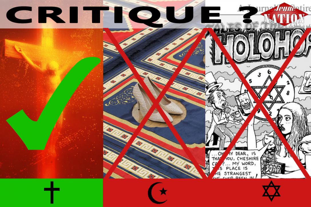 critique-islam-judaisme-catholique-piss christ silence holohoax