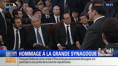 netanyahu-hollande-synagogue-kippah