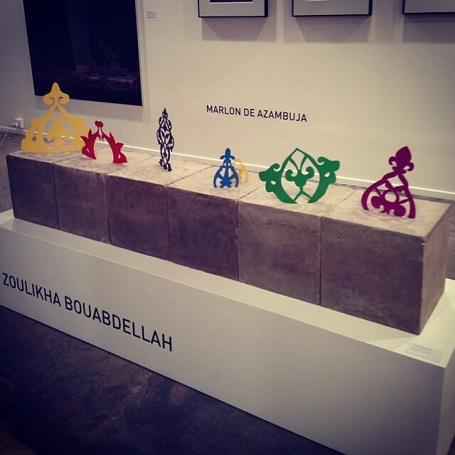 """D'autres """"œuvres"""" de l'Algérienne."""