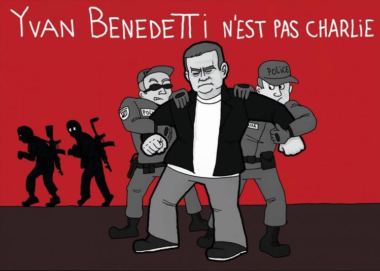 L'Artiste mal pensant - Yvan Benedetti n'est pas Charlie