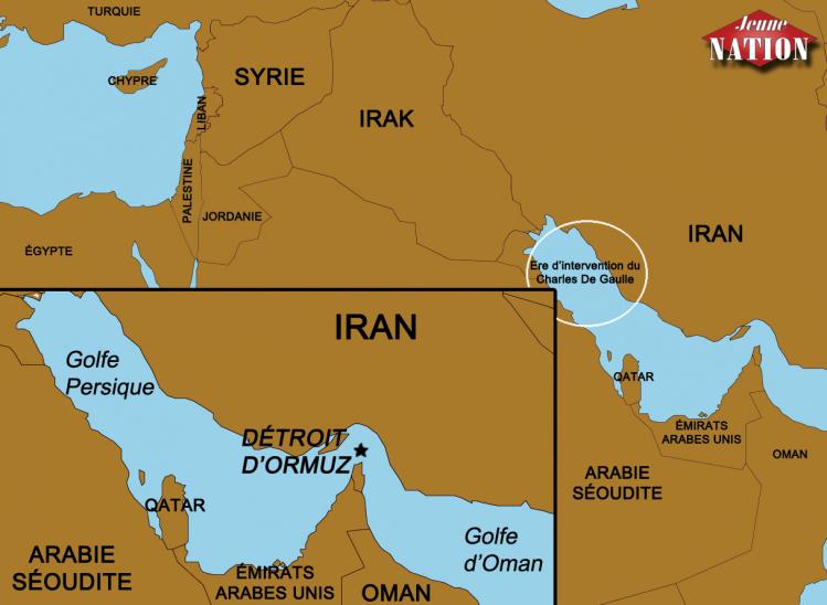détroit d'ormuz Iran Syrie Irak-