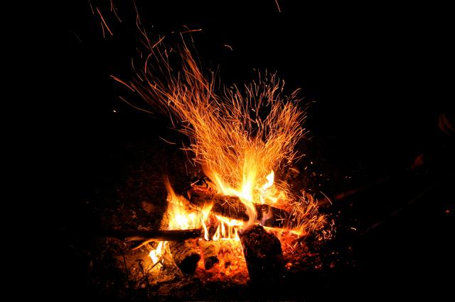 feu de camp