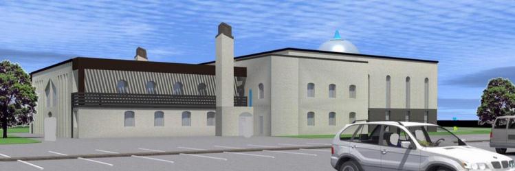 future mosquée-cathédrale de Longwy
