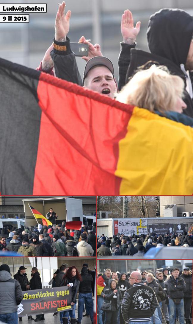 manif Ludwigshafen hooligans