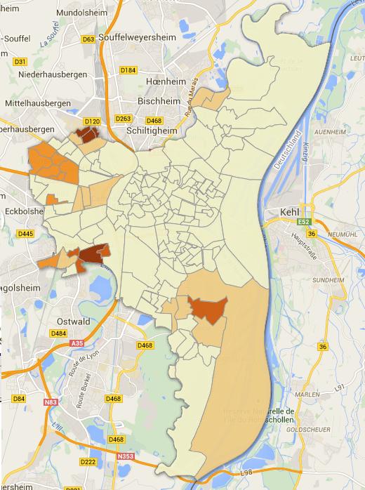 Les résultats du MCS à Strasbourg en 2014